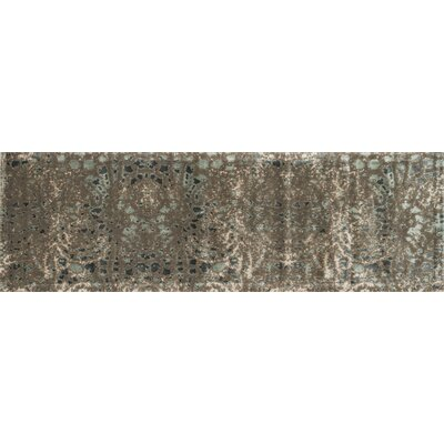 Durdham Park Brown Area Rug Rug Size: Runner 24 x 79