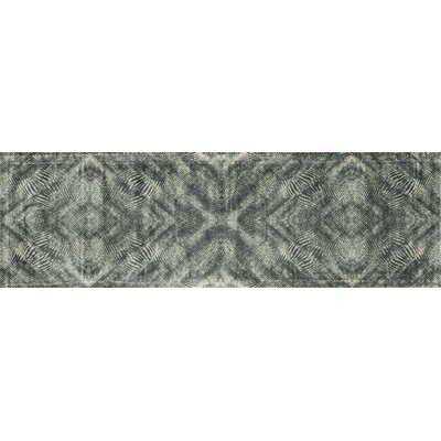 Keever Fog Gray Area Rug Rug Size: Runner 24 x 79