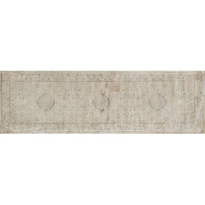 Nyla Beige Area Rug Rug Size: Runner 24 x 79