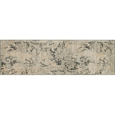 Keever Ivory Area Rug Rug Size: Runner 24 x 79