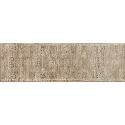 Keever Taupe Area Rug Rug Size: Runner 24 x 79