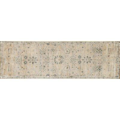 Nyla Stone/Blue Rug Rug Size: 5' x 7'6
