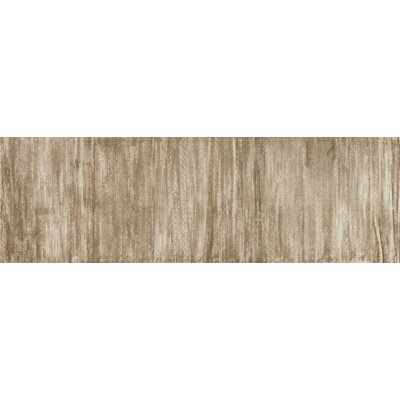Keever Twill Taupe Area Rug Rug Size: Runner 24 x 79