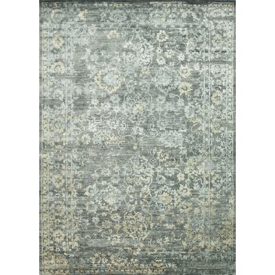 Mirage Hand-Knotted Raven Area Rug