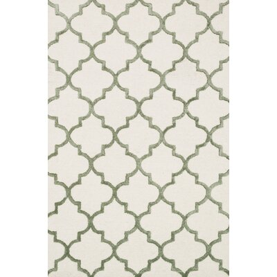 Panache Ivory Area Rug Rug Size: Runner 23 x 79