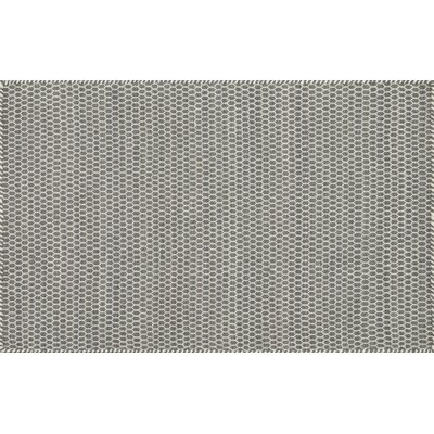 Quays Hand-Woven Gray/Green Area Rug Rug Size: Rectangle 23 x 39