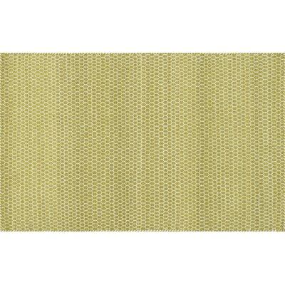 Harper Hand-Woven Citron Gold/Yellow Area Rug Rug Size: 23 x 39