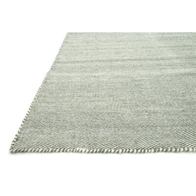 Quays Handmade Light Blue Area Rug Rug Size: Rectangle 36 x 56