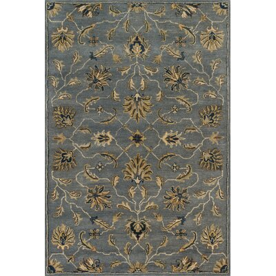 Fairfield Hand-Tufted Gray/Brown Area Rug Rug Size: 9 x 12