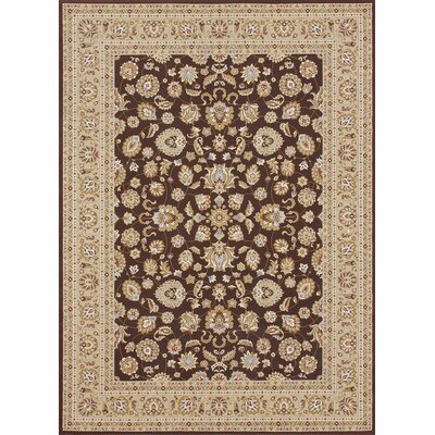 Welbourne Coffee/Beige Area Rug Rug Size: 2'3