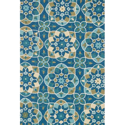 Francesca Hand-Woven Blue Area Rug Rug Size: Rectangle 36 x 56