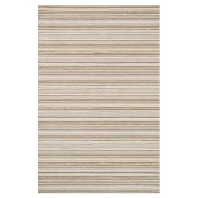 Rhodes Beige Area Rug Rug Size: Rectangle 36 x 56