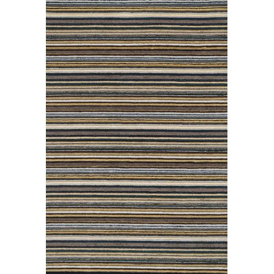 Kirksey Hand-Tufted Gray Area Rug Rug Size: Rectangle 76 x 96