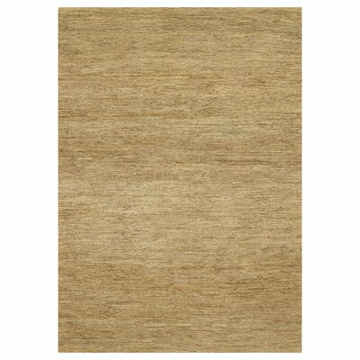 Turbeville Hand-Woven Beige Area Rug Rug Size: Rectangle 5 x 76