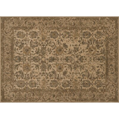 Stanley Beige Area Rug Rug Size: Rectangle 2 x 3