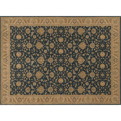 Dolphus Denim/Beige Area Rug Rug Size: Rectangle 12 x 15