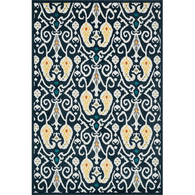 Catalina Navy Indoor/Outdoor Area Rug Rug Size: Rectangle 311 x 510