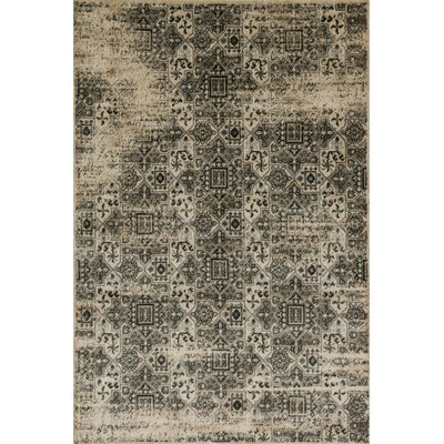 Elton Black Area Rug Rug Size: Rectangle 26 x 77