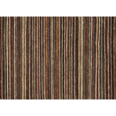 Zuhri Hand Knotted Garnet/Topaz Area Rug Rug Size: Rectangle 56 x 86