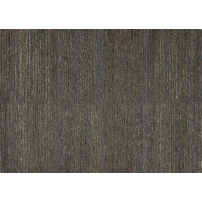 Zuhri Hand-Knotted Brown Area Rug Rug Size: 56 x 86