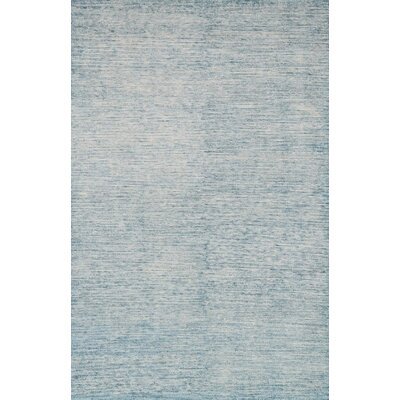 Serena Light Blue Area Rug Rug Size: Rectangle 12 x 15