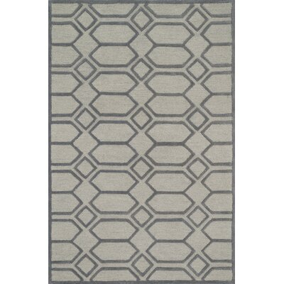 Celine Ivory/Taupe Area Rug Rug Size: Square 76