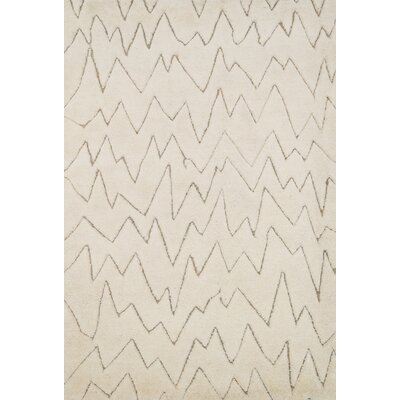 Paniagua Ivory Area Rug Rug Size: Rectangle 4 x 6