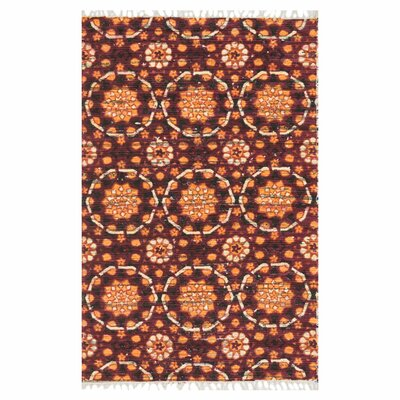 Aria Spice Area Rug Rug Size: Rectangle 23 x 39