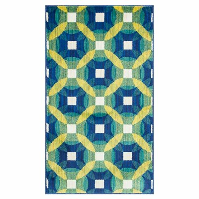 Isabelle Blue/Green Area Rug Rug Size: Rectangle 17 x 26