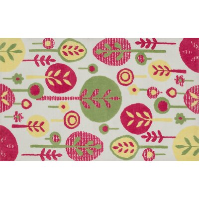 McTee Pink Area Rug Rug Size: Rectangle 2 x 3