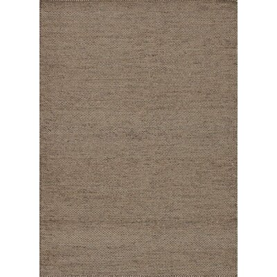 Oakwood Hand-Woven Wheat Area Rug Rug Size: 36 x 56