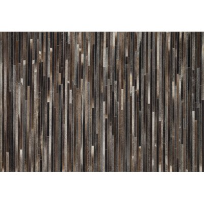 Promenade Charcoal Area Rug Rug Size: Rectangle 36 x 56