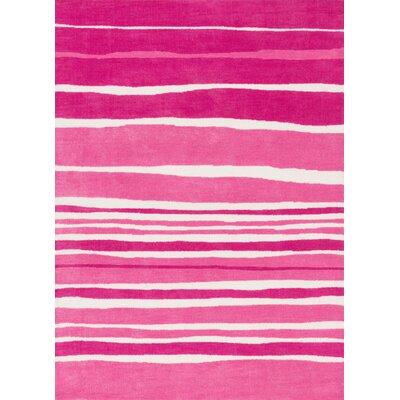 Piper Tickle Me Pink Area Rug Rug Size: 2 x 3