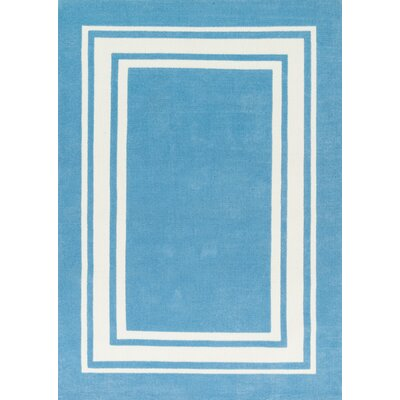 Piper Sky Blue Area Rug Rug Size: 5' x 7'