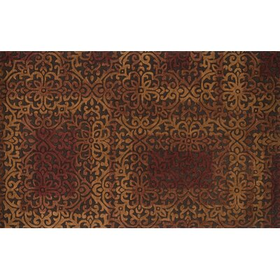 Alexi Brown Area Rug Rug Size: 36 x 56