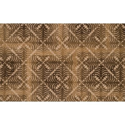 Alexi Camel/Brown Area Rug Rug Size: 5 x 76