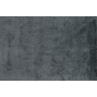 Danso Shag Graphite Area Rug Rug Size: 76 x 96