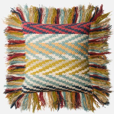Dhurri Throw Pillow Fill: Polyester