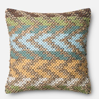 Curacao Cotton Throw Pillow