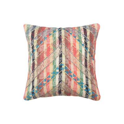 Lucy Cotton Throw Pillow