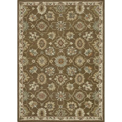 Fairfield Hand-Tufted Brown/Ivory Area Rug
