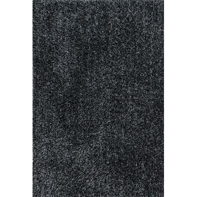 Ballif Hand-Woven Black/Slate Area Rug Rug Size: Rectangle 3'6