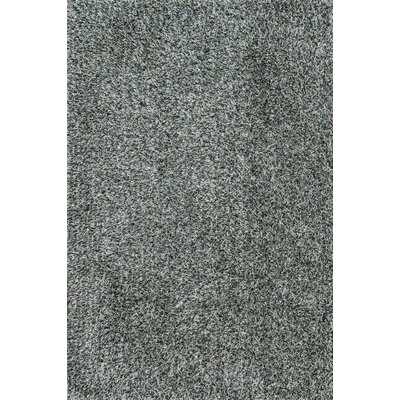 Ballif Hand-Tufted Mist/Slate Area Rug Rug Size: Rectangle 36 x 56