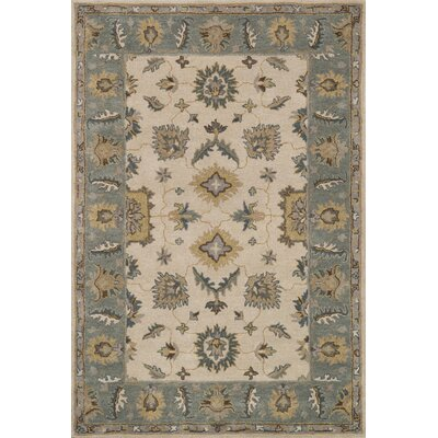 Fairfield Hand-Tufted Slate/Beige Area Rug