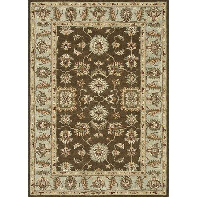 Fairfield Hand-Tufted Brown/Beige Area Rug