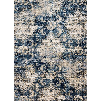 Navy/Ivory Area Rug