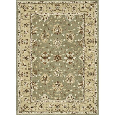 Fairfield Hand-Tufted Sage/Cream Area Rug