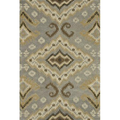 Fairfield Hand-Tufted Gray/Gold Area Rug