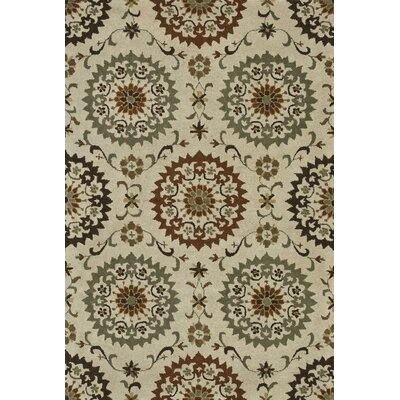 Fairfield Hand-Tufted Ivory Area Rug