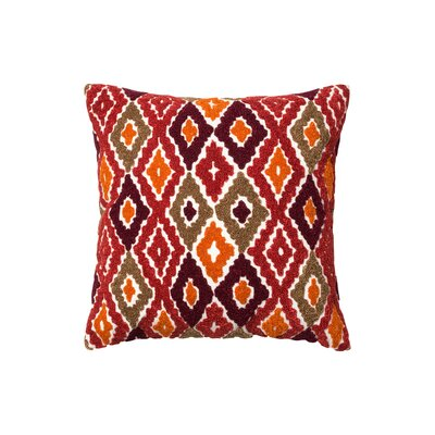 Fishers Cotton Throw Pillow